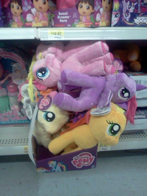 Pony pile!